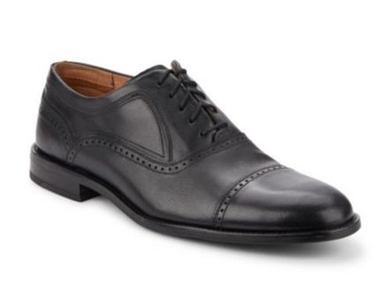 コールハーン Rollins Cap Toe Shoes 黒