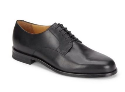 コールハーン Carter Leather Derby Shoes 黒
