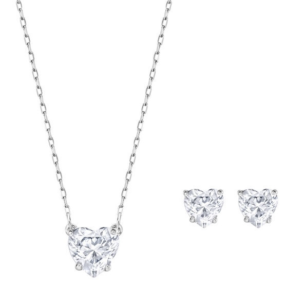 ★ SWAROVSKI ★Attract Clear ハート  ギフトセット