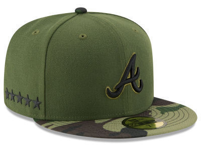 New Era Atlanta Braves Memorial Day 59Fifty Fitted