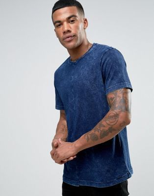 Cutting T shirts blue, aerospace diesel and T-DINTY wash
