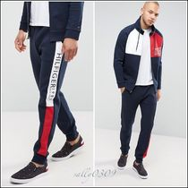 Tommy Hilfiger(トミーヒルフィガー) セットアップ 【関税・送料無料】Tommy Hilfiger★ロゴセットアップスウェット