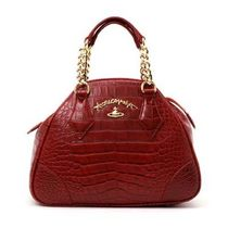 VivienneWestwood ANGLOMANIA DORSET 2WAYハンド 7268V RED