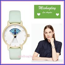 【kate spade】クジャクの羽が変化!!!peacock metro watch★