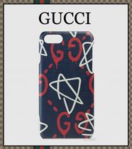 【2017ss最新作!!】大人気♪ GUCCI Ghost ★ iPhone 7 ケース