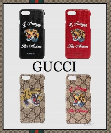 2017 ss popular GUCCI Tiger iPhone 7 case