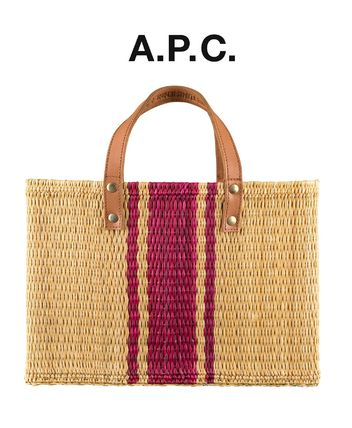 France from A.P.C. Red mini Smar West basketball