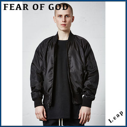 FOG Essentials bomber jacket black