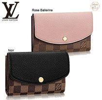 Louis Vuitton☆PORTEFEUILLE NORMANDY COMPACT☆折りたたみ財布