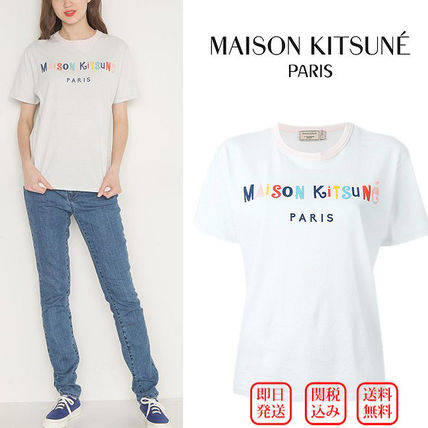 MAISON KITSUNE PARTY TEE-limited number of refreshing