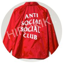 S-XL★Anti Social Social Club Logo COACH JACKET ASSC コーチ