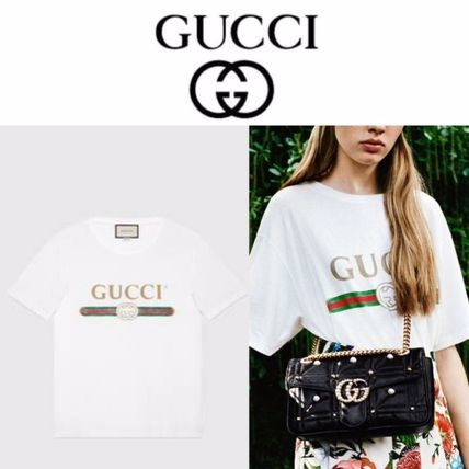 GUCCI retail store purchase / gift OK logo T Shirt Unisex