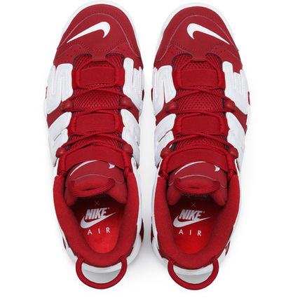 Supreme スニーカー 確保済 Supreme Nike Air More Uptempo Red Suptempo モアテン(2)