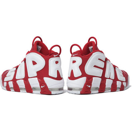 Supreme スニーカー 確保済 Supreme Nike Air More Uptempo Red Suptempo モアテン(3)