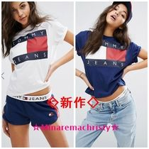 Tommy Jeans★新作90sフラッグロゴTシャツ  送関込!