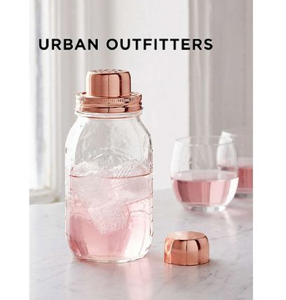 Urban Outfitters W & P Mason jar cocktail shaker