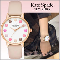 【Kate Spade】メイクアップパレットがモチーフ!Metro Watch