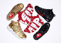 "【送料無料】SUPREME X NIKE AIR MORE UPTEMPO ""Suptempo"""