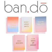★ban.do★GOOD VIBES GREETING CARD SET カード 10枚セット