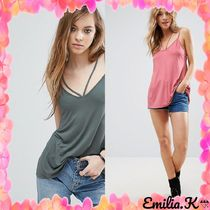 ASOS(エイソス) タンクトップ 【国内発ASOS 送料込】 The Ultimate Cami With Caging Detail