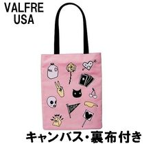 Valfre ヴァルフェー PEACE OUT TOTE BAG カバン 布 正規品 即納