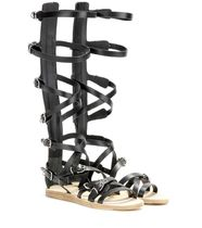 Leather gladiator sandals グラディエーター
