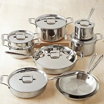 All-Clad(オールクラッド) 調理器具 【速達・追跡】 All-Clad d5 Stainless-Steel 15-Piece Cookware