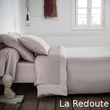 【La Redoute】Satin Qualite BEST フラットシーツ ダブル