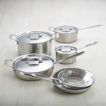 All-Clad(オールクラッド) 調理器具 【速達・追跡】 All-Clad d5 Brushed Stainless-Steel 10-Piece