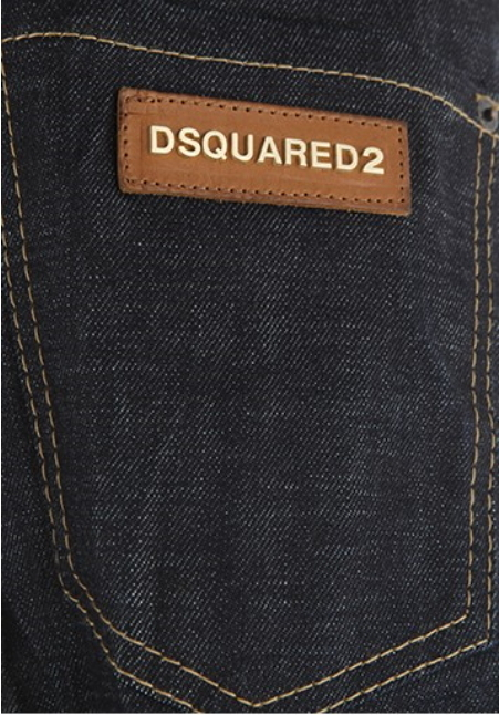 D SQUARED2 ★ FLOWER PATTERN ROLL UP SLIM FIT JEANS