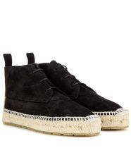 Espadrille ankle boots エスパドリーユ