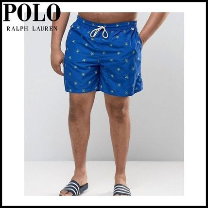 【Ralph Lauren】PLUS Turtle Swim Shorts in Navy