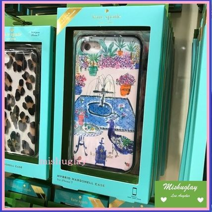 【kate spade】綺麗なjeweled garden ♪iPhone6/6s or 7 case★