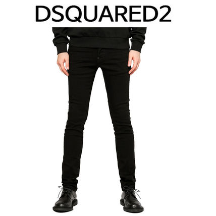 D SQUARED2 ★ WRINKLE BLACK JEANS COOL GYU FIT