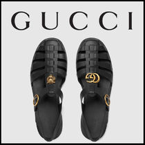 2017SS GUCCI Rubber buckle strap sandal ラバーサンダル