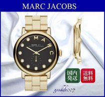 MARC JACOBS(マークジェイコブス) アナログ腕時計 ★MARC JACOBS☆Women's Baker Crystal Index Bracelet 腕時計