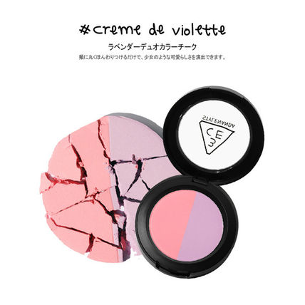 3 CONCEPT EYES チーク [日本未入荷]3CE DUO COLOR FACE BLUSH _デュオブラッシャー(11)