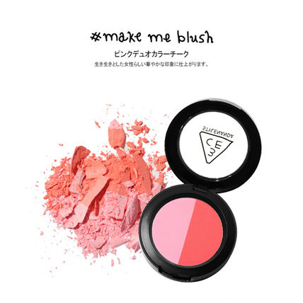 3 CONCEPT EYES チーク [日本未入荷]3CE DUO COLOR FACE BLUSH _デュオブラッシャー(3)