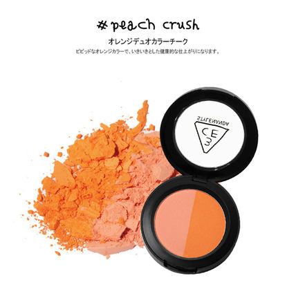 3 CONCEPT EYES チーク [日本未入荷]3CE DUO COLOR FACE BLUSH _デュオブラッシャー(5)