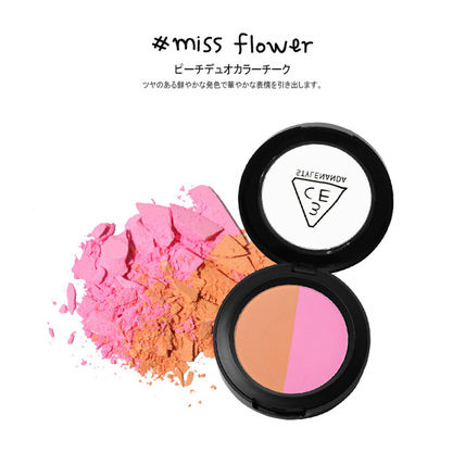 3 CONCEPT EYES チーク [日本未入荷]3CE DUO COLOR FACE BLUSH _デュオブラッシャー(7)