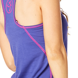 H29.4月【ZUMBA】Queen Of The Jungle High Neck Tank Z1T01257