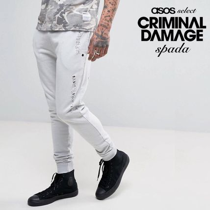 SALE Criminal Damage damage Jogger pants /