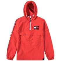 Tommy Hilfiger(トミーヒルフィガー) アウターその他 ★Tommy Hilfiger Tommy JEANS  POPOVER JKT 関税込★