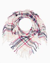 Charming Charlie(チャーミングチャーリー) スカーフ・ストール Charming Charlie  NEWBURY PLAID SQUARE SCARF セール