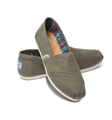 LAより直送 ◇◆TOMS◇◆TARMAC OLIVE Women's CANVAS 10006173