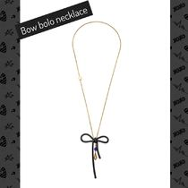 MARC JACOBS(マークジェイコブス) ネックレス・ペンダント MARC JACOBS / ネックレス / Enamel Bow Bow Bolo Neckace