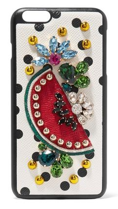 ★iPhone 7 Plus ★Dolce & Gabbana★PRINTED LEATHER CASE