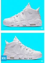 "MAY 5TH RELEASE★AIR MORE UPTEMPO 96""TRIPLE WHITE"""
