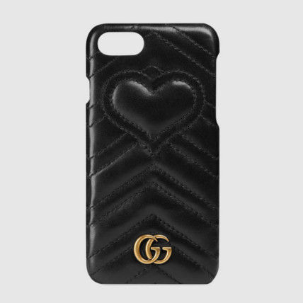 Send embedded chased with GUCCI GG Marmont iPhone 7 case