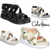 ★COLE HAAN 厚底サンダル Zerogrand Crisscross Sandals★